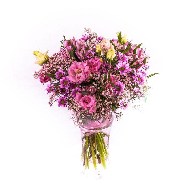 Romantický růžový mix